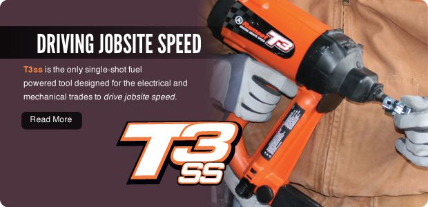 T3ss fuel powered tool